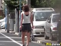 Weird asian pee in street