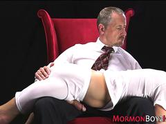 Mormon gets ass punished