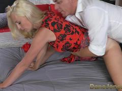DaneJones Sexy blonde wife sucks and fucks her big dick man
