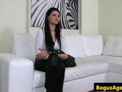 European amateur casted with office fucking
