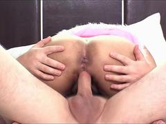 Barbie Ladyboy Jumping On Cock