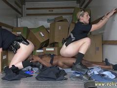 Fake cop big ass and police rough anal xxx Black suspect taken on a rough ride