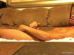 Amateur Twink Shower and Stroke Show