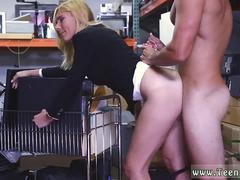 Swedish blonde masturbate Hot Milf Banged At The PawnSHop