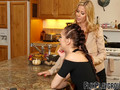 Alexis Fawx and Aria Alexander are eager to lick each other
