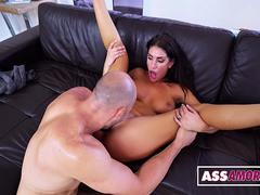 August Ames Fucks The Gardener