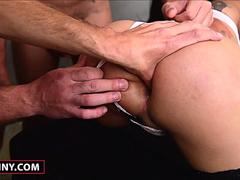 Hot Shemale Sheila Gets Gangbanged