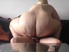 Hot Blonde BBW Gets Laid in various positions
