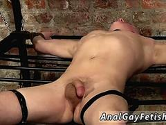 Gay bondage blowjob with cum in mouth and senior old men naked first time Draining A Boy
