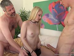 Lily Rader Makes Husband Watch As She Gets Fucked Right