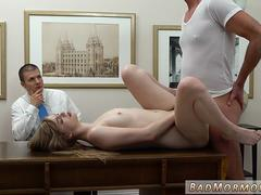 A dad punishes his gorgeous daughter to take of her clothes and taste that stiff shaft