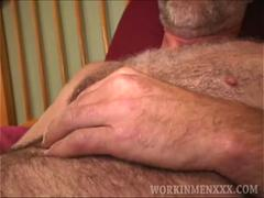 mature amateur mike jacks off film