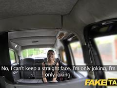 Fake Taxi Stunning Romanian with perfect tits gets taxi facial
