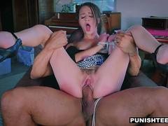 PunishTeens - Teen Cumslut craves hardcore punishment