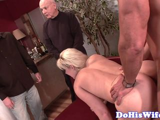 highheeled wife assfucked in cuckold action