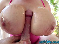 Cummy mouthed asian pov