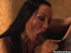 RealAsianExposed - Asian witch shares a weird fantasy with a black stallion