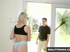 RealityKings - Teens Love Huge Cocks - Brad Knight Cadence Lux - Neighborhood Watch