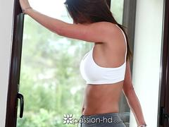 PASSION-HD Anal fuck an facial with big booty brunette Franceska Jaimes