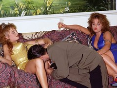 PrivateClassics.com - Threesome with Lorraine and Lousie Ansell