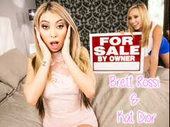 You must lick the buyers assholes! - Brett Rossi and Kat Dior